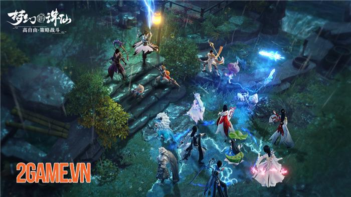 Top 4 game nhập vai đánh theo lượt có đồ họa 3D đậm chất nghệ thuật 2