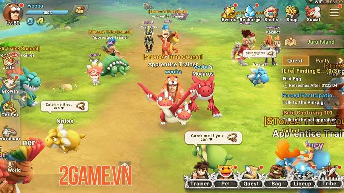 StoneAge World - Thế giới tiền sử thú vị với hệ thống chiến đấu đơn giản 0