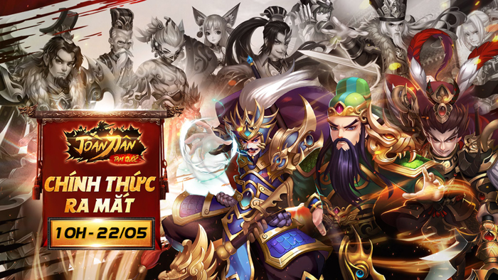 Tặng 777 giftcode game Toàn Dân Tam Quốc 0