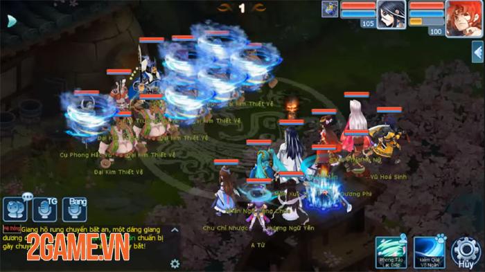 Võ Lâm Hào Hiệp - Tựa game kiếm hiệp đánh theo lượt đầy tinh tế 4