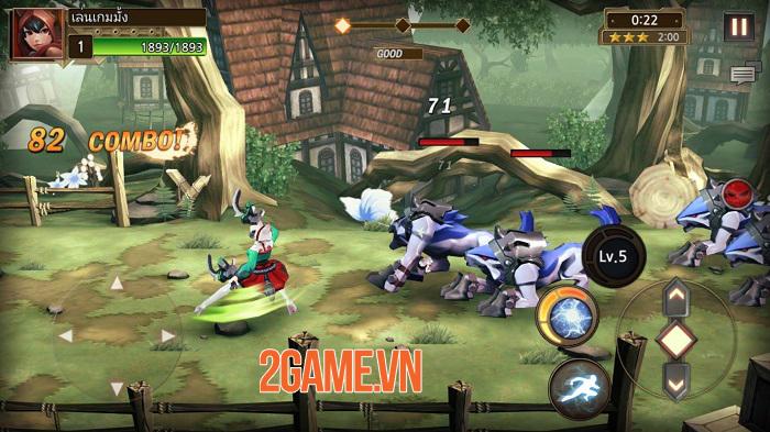 Soul Eater - Game hành động đem đến niềm vui của các game arcade cổ điển 1