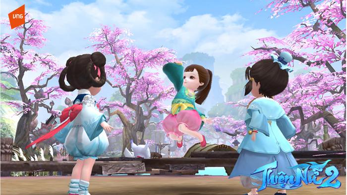 Tháng 6 này game thủ Việt sẽ được sinh con tại Thiện Nữ 2 VNG 5