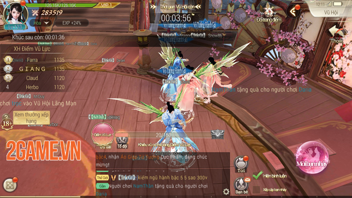 Cảm nhận Jade Sword: MMORPG nhẹ - đẹp - hay! 6