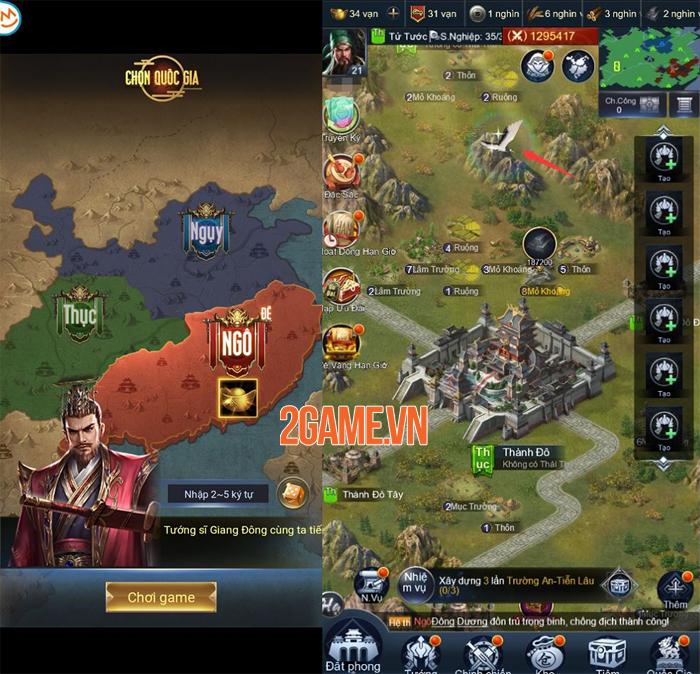 Tam Quốc Chí 2020 - Tựa game chiến thuật màn hình dọc đầy tinh tế 0