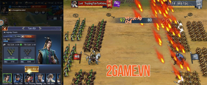 Tam Quốc Chí 2020 - Tựa game chiến thuật màn hình dọc đầy tinh tế 3