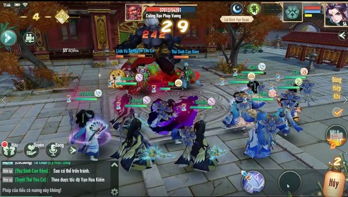 Game thủ Tân Thần Điêu VNG sẽ được trải nghiệm 7 hoạt động Liên server 1