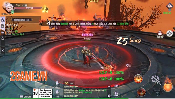 Kiếm Hồn 3D cho người chơi làm chủ hướng phát triển nhân vật không giới hạn 1