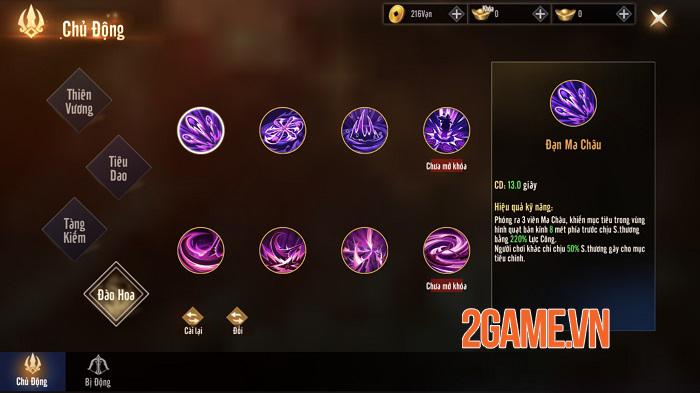 Kiếm Hồn 3D cho người chơi làm chủ hướng phát triển nhân vật không giới hạn 3