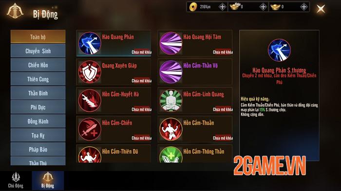 Kiếm Hồn 3D cho người chơi làm chủ hướng phát triển nhân vật không giới hạn 5