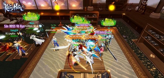 Server game Kiếm Hồn 3D bị lấp đầy chỉ sau 2 tiếng thử nghiệm 3