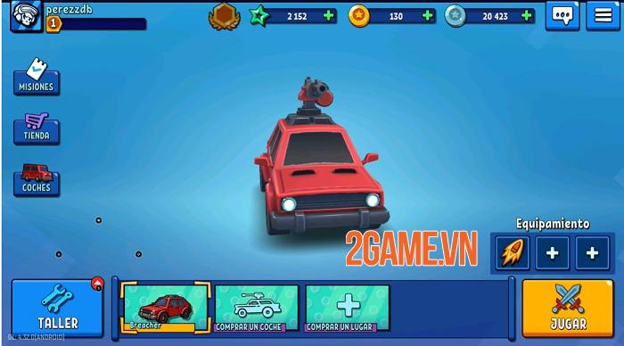 Rage of Car Force - Game MOBA bắn xe với những màn đấu tốc độ cao 1