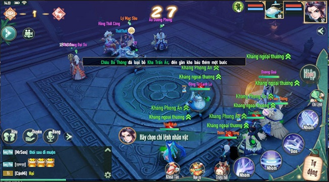 Game thủ Tân Thần Điêu VNG sẽ được trải nghiệm 7 hoạt động Liên server