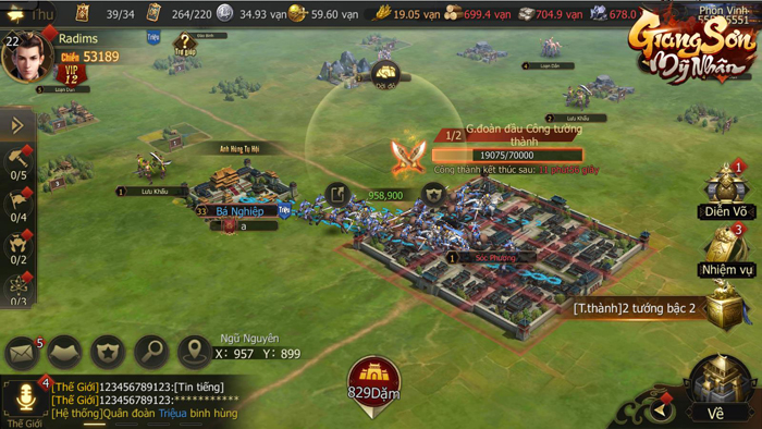 Game Giang Sơn Mỹ Nhân đem tới một thế giới chiến thuật chuẩn mực 3