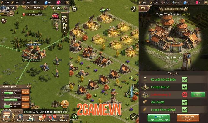 Chiến Tranh Gia Viên - game chiến thuật bối cảnh kỉ nguyên sơ khai mới mẻ 1