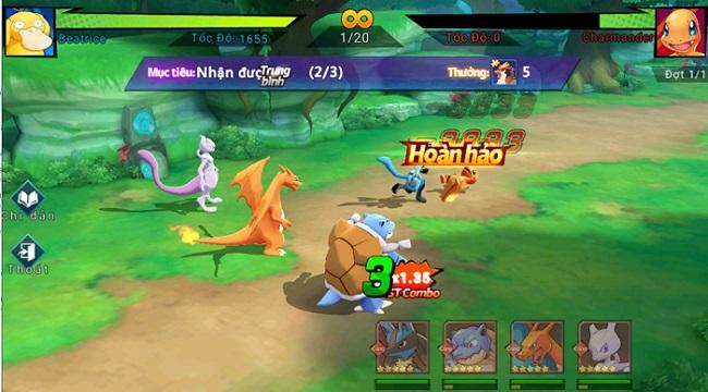 Thỏa sức tùy biến trận hình theo chiến thuật riêng trong Thần Thú 3D