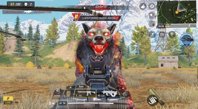 Chó quỷ Cerberus của Call of Duty: Mobile VN vẫn dễ dàng bị hạ gục
