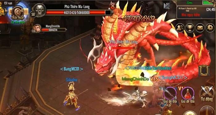 Game thủ Mộng Chinh Đồ được NPH quăng hẳn 20 tính năng mới khi đòi update 0