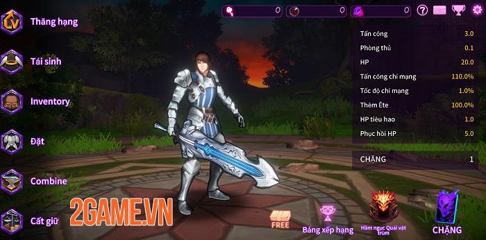 Game hành động A Tag Knight ra mắt ngôn ngữ tiếng Việt 2