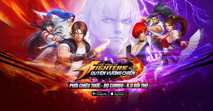 KOF AllStar VNG – Quyền Vương Chiến sẽ do ông lớn VNG Games phát hành
