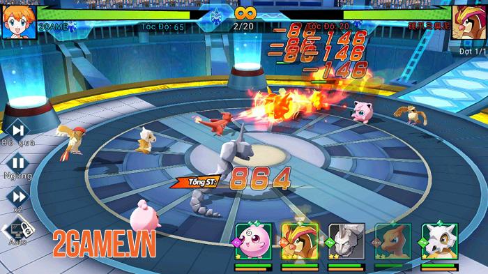 Chẳng thể cưỡng lại cơ chế chiến đấu liên trảm đặc sắc của Thần Thú 3D 3