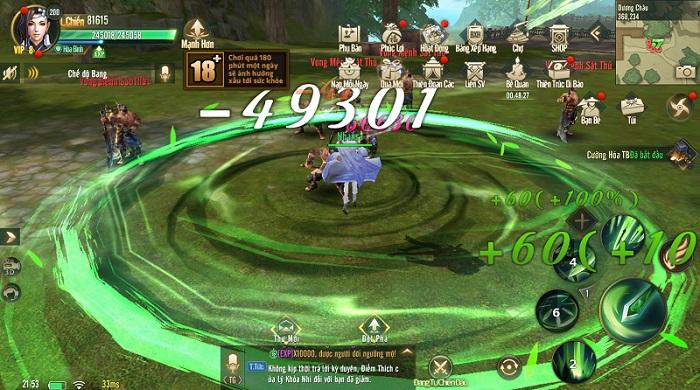 Tựa game chuẩn võ lâm Ngự Kiếm Mobile khiến làng game nhộn nhịp trở lại 3