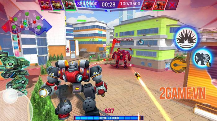 Star Robots - Đấu trường chiến đấu nhiều người chơi độc đáo và thú vị 0