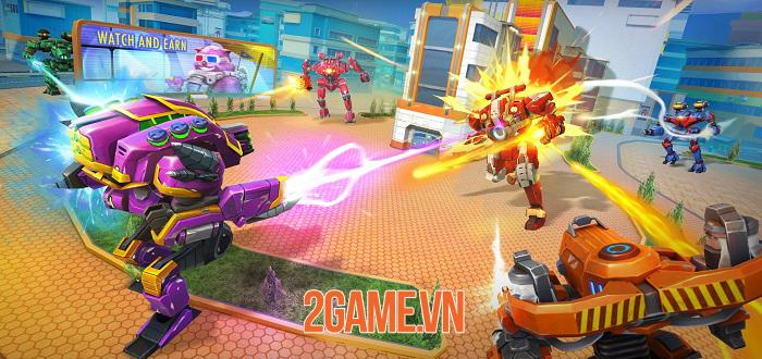 Star Robots - Đấu trường chiến đấu nhiều người chơi độc đáo và thú vị 1