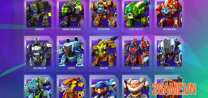 Star Robots - Đấu trường chiến đấu nhiều người chơi độc đáo và thú vị 2