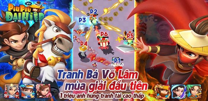Đại Hiệp Piu Piu Piu tung update siêu chất với giải đấu Võ Lâm Tranh Bá toàn server 1