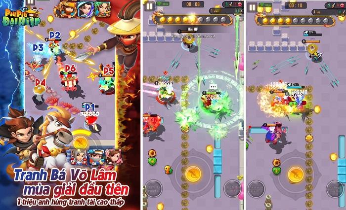 Đại Hiệp Piu Piu Piu tung update siêu chất với giải đấu Võ Lâm Tranh Bá toàn server 2