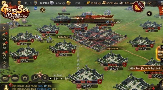 Tặng 666 giftcode game Giang Sơn Mỹ Nhân Mobile