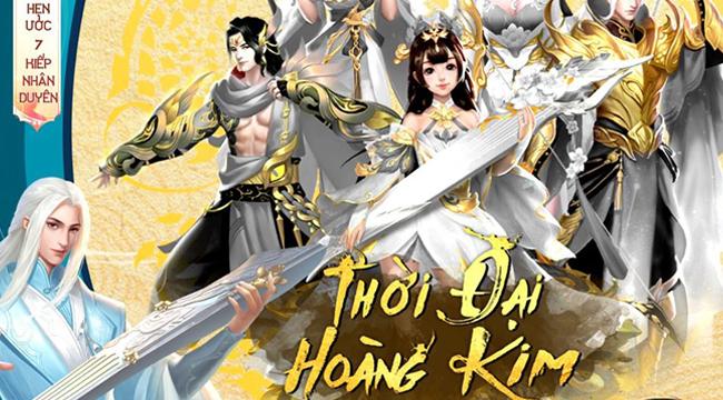 Tình Kiếm 3D tiếp tục nâng tầm gameplay với bản big update Thời Đại Hoàng Kim
