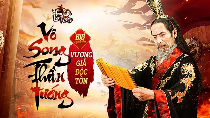 Vô Song Thần Tướng - Bản Update đầu tiên của Tam Quốc Liệt Truyện chính thức ra mắt ngày 15/06 0