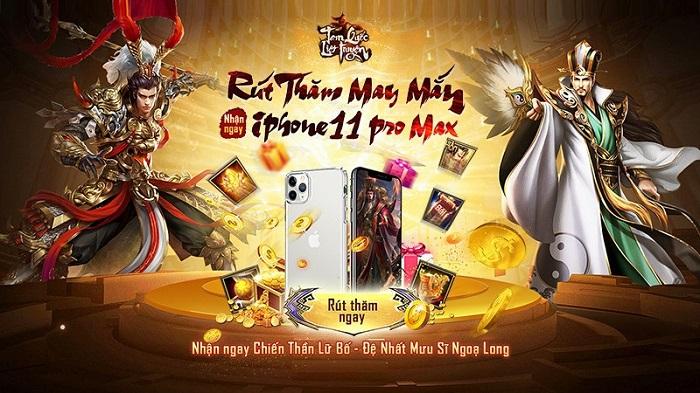 Vô Song Thần Tướng - Bản Update đầu tiên của Tam Quốc Liệt Truyện chính thức ra mắt ngày 15/06 1