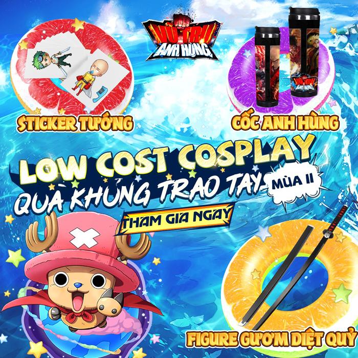Vũ Trụ Anh Hùng Funtap tổ chức event Lowcost Cosplay mùa 2 với phần quà x2 0