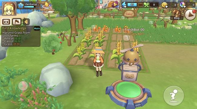 Game nông trại Tour of Neverland cập nhật ngôn ngữ tiếng Anh