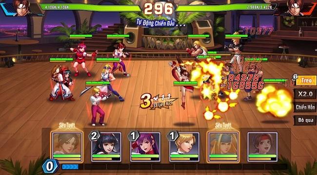 Mê game đối kháng thì hãy vào KOF AllStar VNG – Quyền Vương Chiến