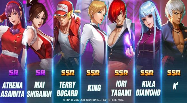 Điểm mặt những đấu sĩ mạnh nhất vũ trụ SNK có trong KOF AllStar VNG – Quyền Vương Chiến (P2)