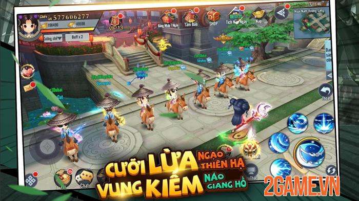 Game chibi Kiếm Khách Ca Ca Mobile mở đăng kí trước 0