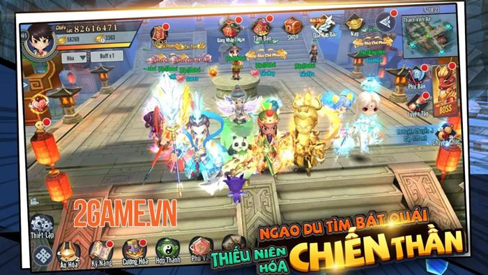 Game chibi Kiếm Khách Ca Ca Mobile mở đăng kí trước 1