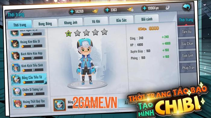 Game chibi Kiếm Khách Ca Ca Mobile mở đăng kí trước 3