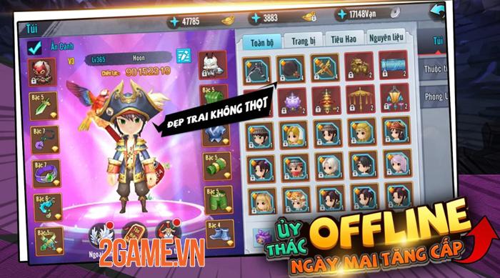 Game chibi Kiếm Khách Ca Ca Mobile mở đăng kí trước 2