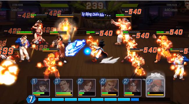 Phối chiêu đọ sức chưa bao giờ là việc dễ dàng trong KOF AllStar VNG – Quyền Vương Chiến