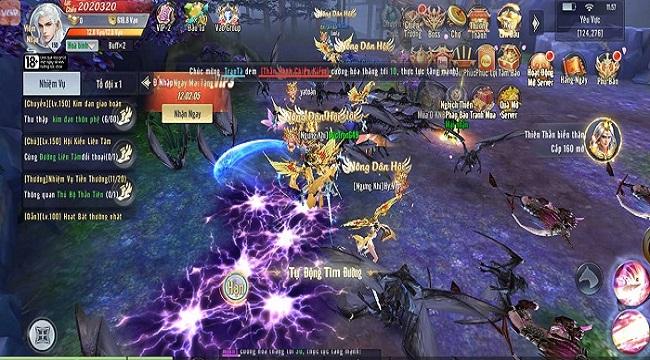 Game thủ Song Kiếm Loạn Vũ chăm chỉ cày cuốc đua top trong ngày đầu ra mắt