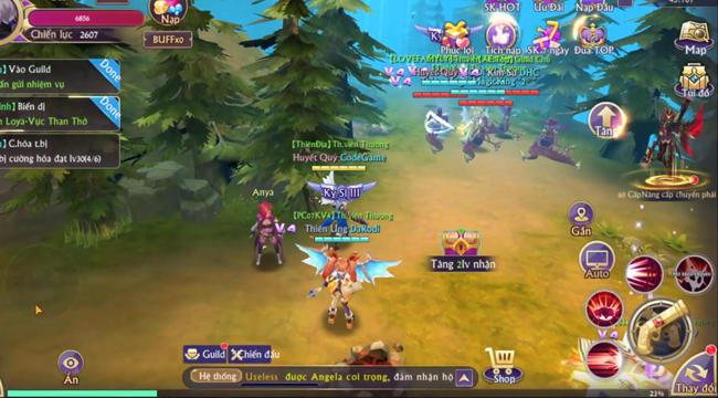 Tặng quá nhiều Kim Cương và free VIP nên lượng người đổ về Fantasy KingDom M rất đông!
