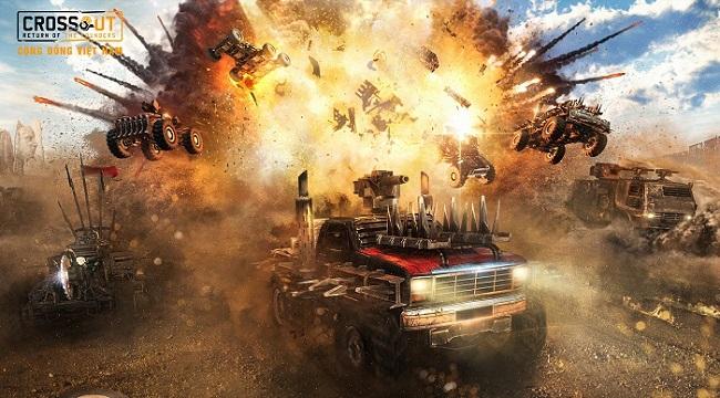 Bước vào thế giới bom tấn Max Điên thông qua Crossout Online