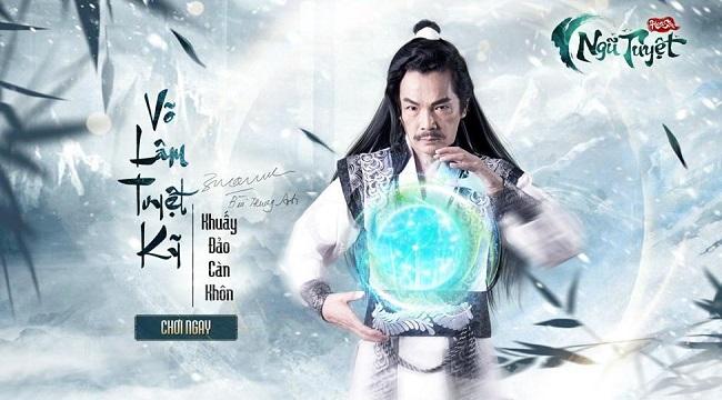 NSND Trung Anh sẽ là đại diện hình ảnh của game Hoa Sơn Ngũ Tuyệt
