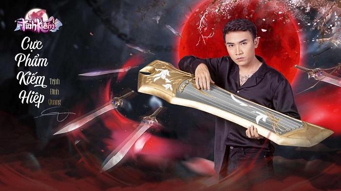 Trịnh Đình Quang đồng hành cùng Tình Kiếm 3D ra mắt MV mới