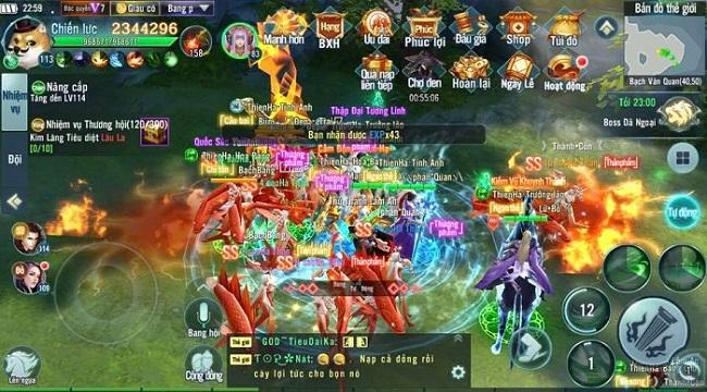 Nhất Kiếm Giang Hồ chính thức khởi tranh giải đấu Cửu Đỉnh Chi Tôn mùa 5