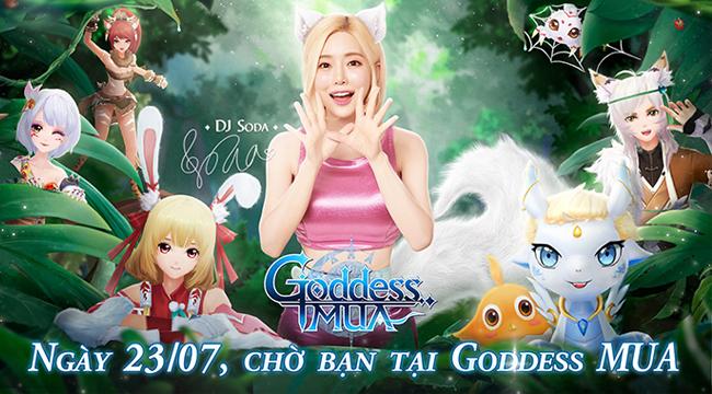 Siêu phẩm Goddess MUA – Nụ Hôn Nữ Thần công bố ngày ra mắt